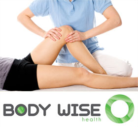 Physiotherapist help a patient